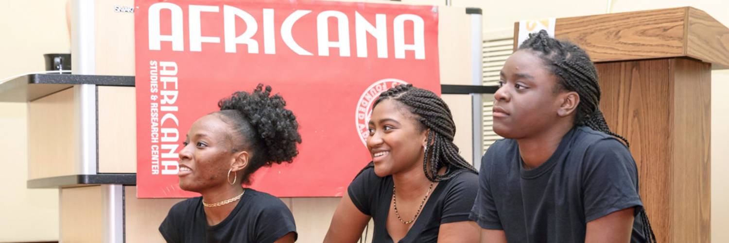 Africana Studies and Research Center  Logo