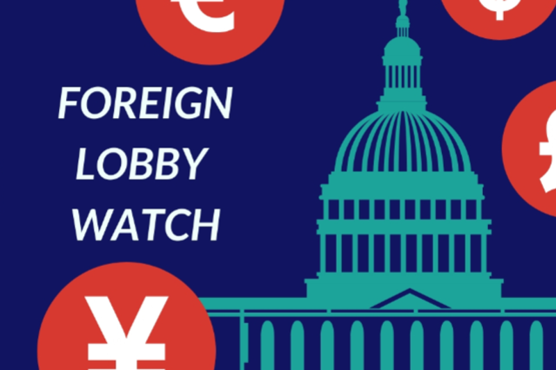Donate to Foreign Lobby Watch
