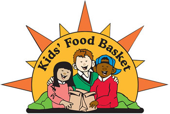 Kids food basket logo 350