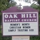 Oak Hill Missionary Baptist Church Ministries, Incorporated