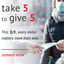 West Virginia's Take 5 to Give 5 Day - May 5, 2020